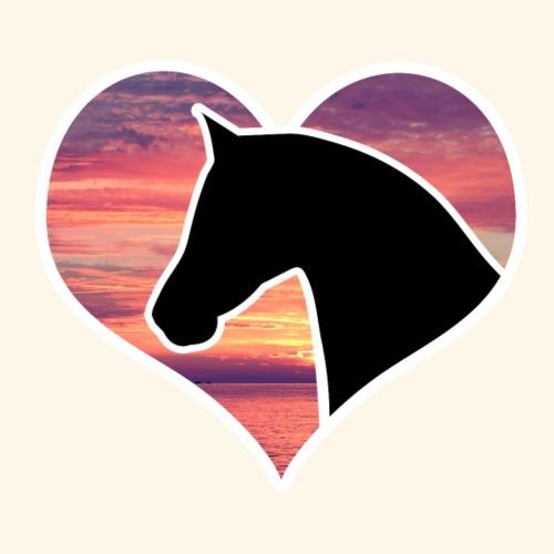 Horse in Heart - Men's Premium T-Shirt