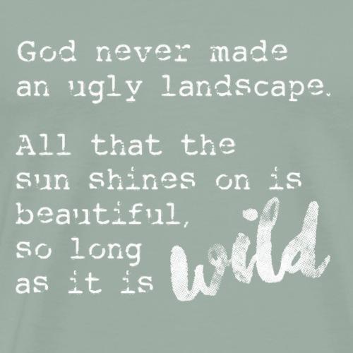 God's Landscapes. - Men's Premium T-Shirt
