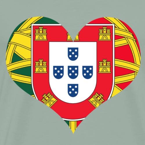portuguese lover - Men's Premium T-Shirt