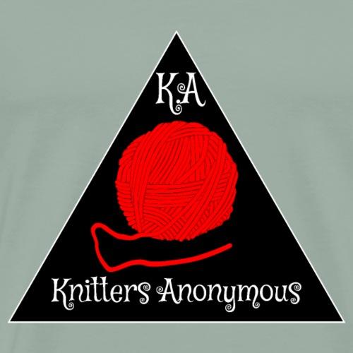 Knitters Anonymous - Men's Premium T-Shirt