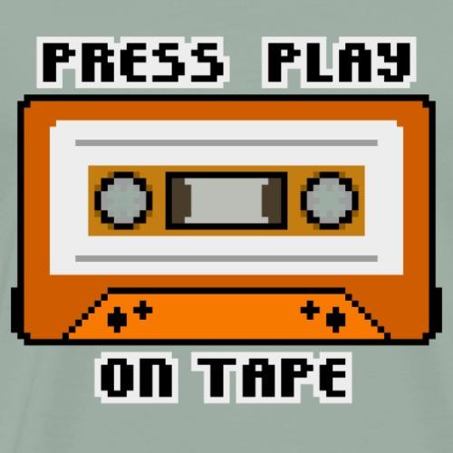 Press Play On Tape - Men's Premium T-Shirt