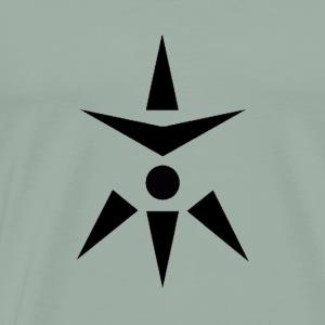 Shadows black logo - Men's Premium T-Shirt