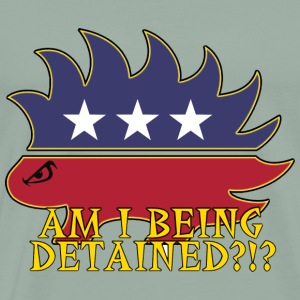 Am I Being Detained - Men's Premium T-Shirt