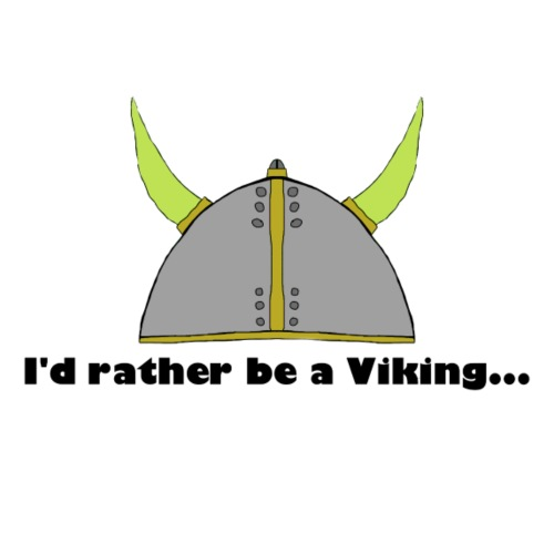 Rather be a Viking - Men's Premium T-Shirt
