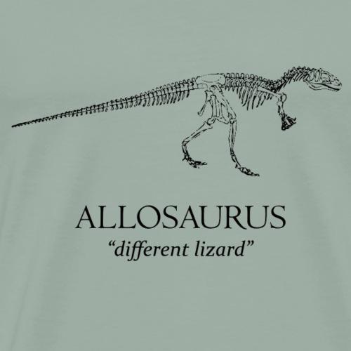 Allosaurus - Men's Premium T-Shirt