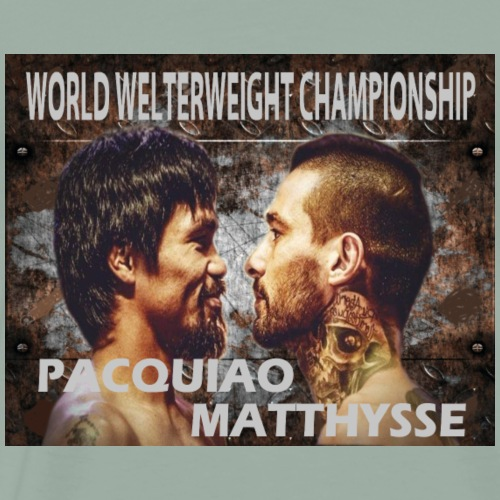 PACQUIAO VS MATTHYSSE - Men's Premium T-Shirt