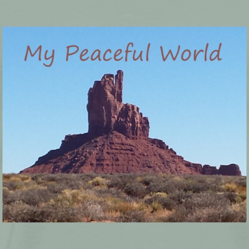 My Peaceful World - Arizona - Men's Premium T-Shirt