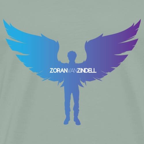ZoranVanZindell Blue Mens Original Logo - Men's Premium T-Shirt
