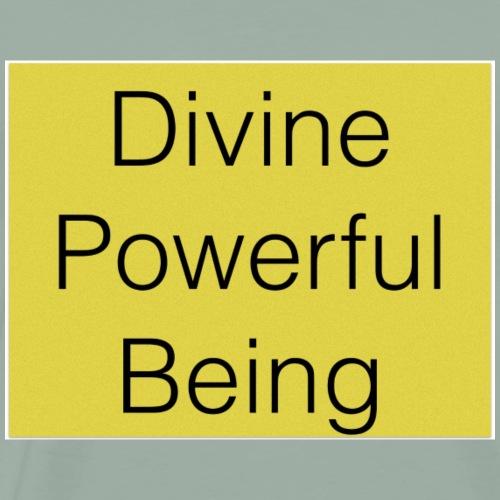 Yellow Divine Powerful Being - Men's Premium T-Shirt
