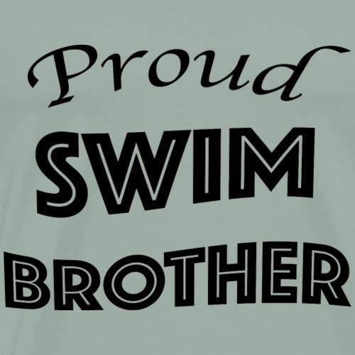 swim brother - Men's Premium T-Shirt