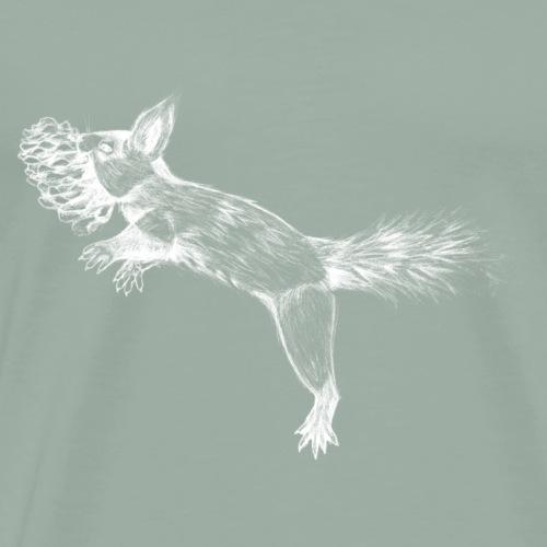 Wild Squirrel - Men's Premium T-Shirt