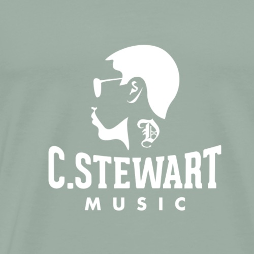 CSTEWART WHITE - Men's Premium T-Shirt