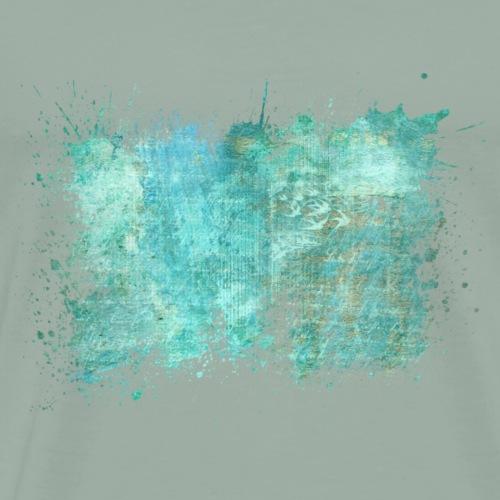 Watersplash Summer Design - Men's Premium T-Shirt