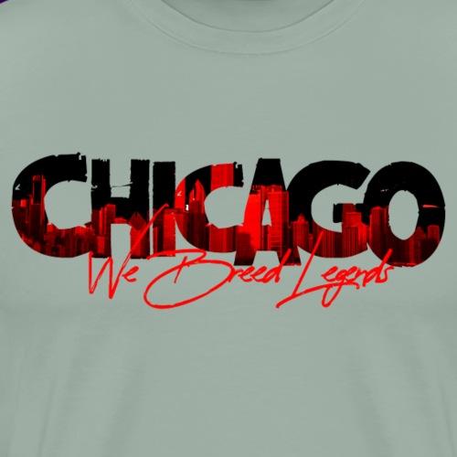 Chicago We Breed Legends - Men's Premium T-Shirt