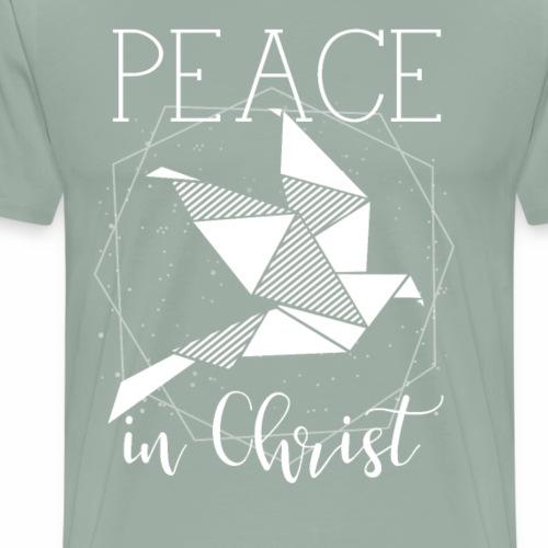 Ladies Peace In Christ Geometric - Men's Premium T-Shirt
