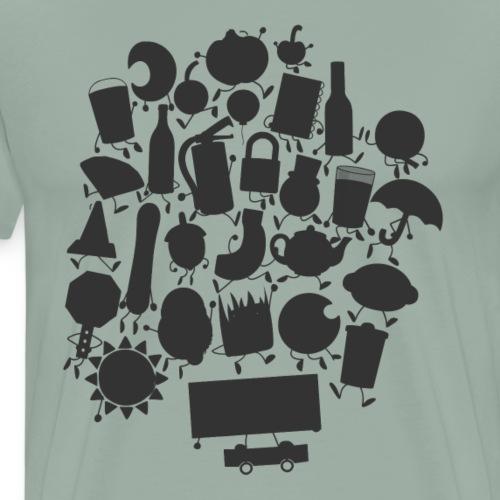 Cast (Alternate) - Men's Premium T-Shirt