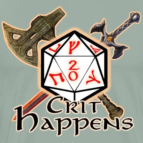 Crit Happens - Men's Premium T-Shirt