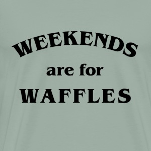 Waffles - Men's Premium T-Shirt