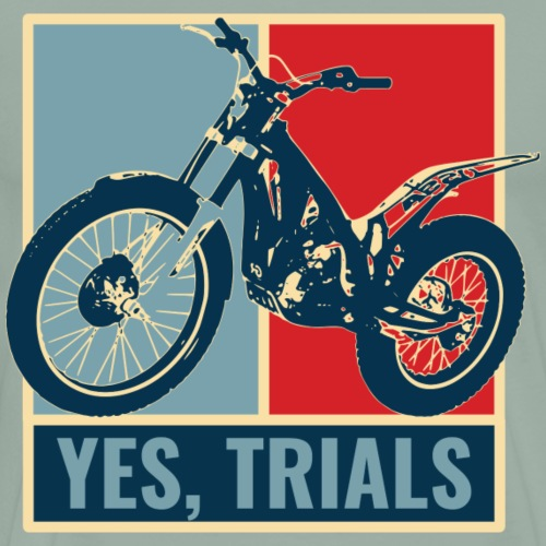 Yes, TRIALS - Men's Premium T-Shirt