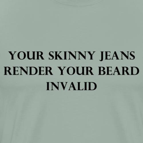 Skinny - Men's Premium T-Shirt