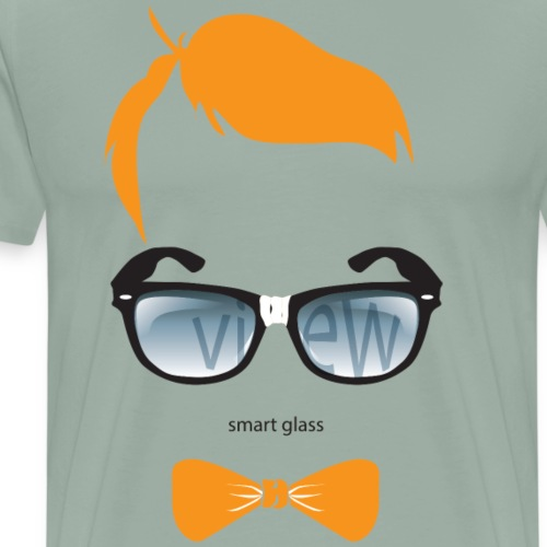 nerdviewglass - Men's Premium T-Shirt