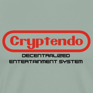 8 Bit Crypto Gaming System - Men's Premium T-Shirt