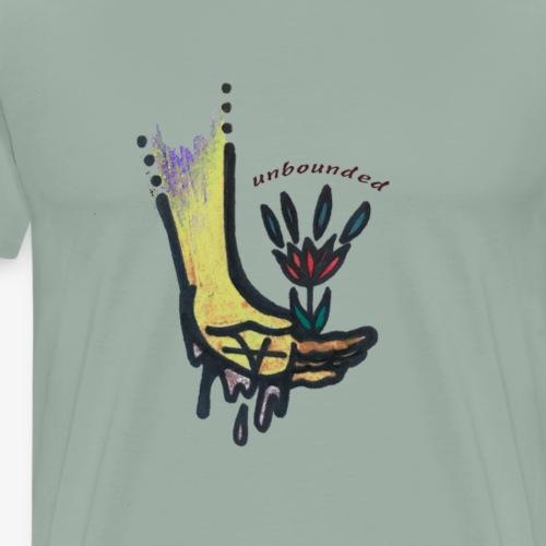 A Flower for You - Men's Premium T-Shirt
