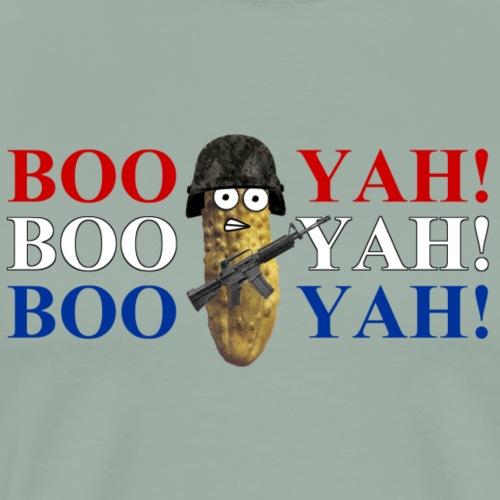 Combat Pickle booyah - Men's Premium T-Shirt