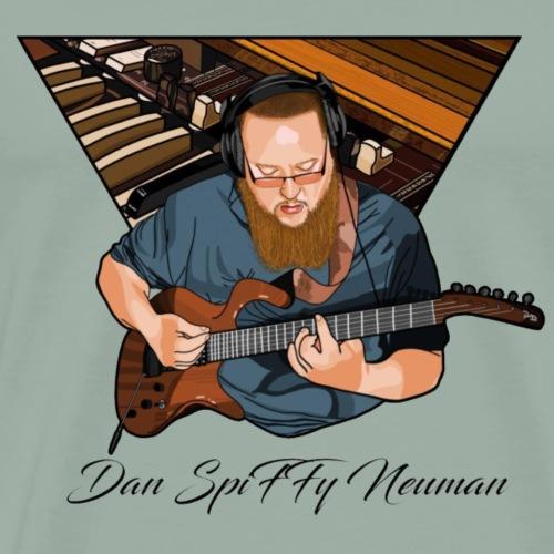 Parker guitar, no background - Men's Premium T-Shirt