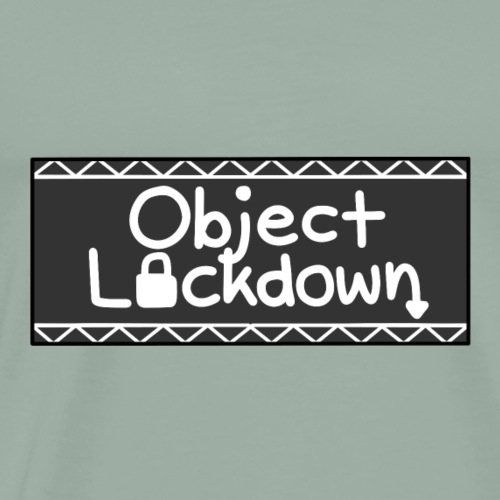 Object Lockdown Logo (Alternate) - Men's Premium T-Shirt