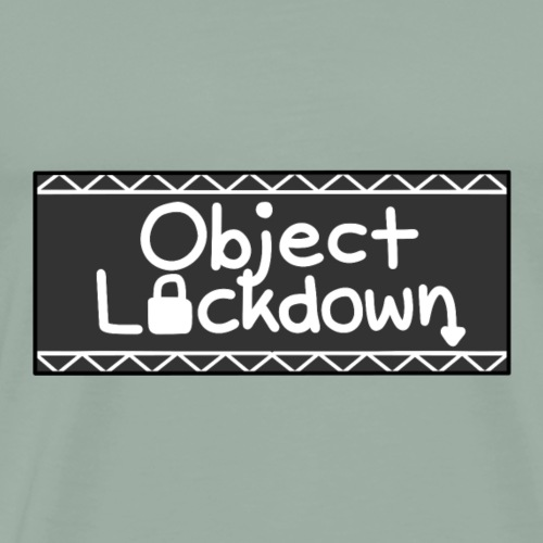 Object Lockdown Logo (Alternate) - Men's Premium T-Shirt