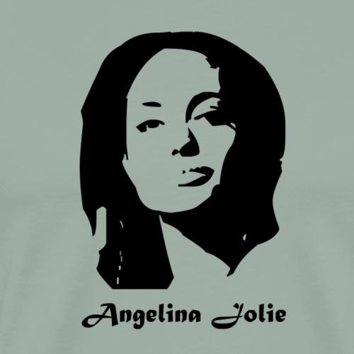 Angelina jolie - Men's Premium T-Shirt