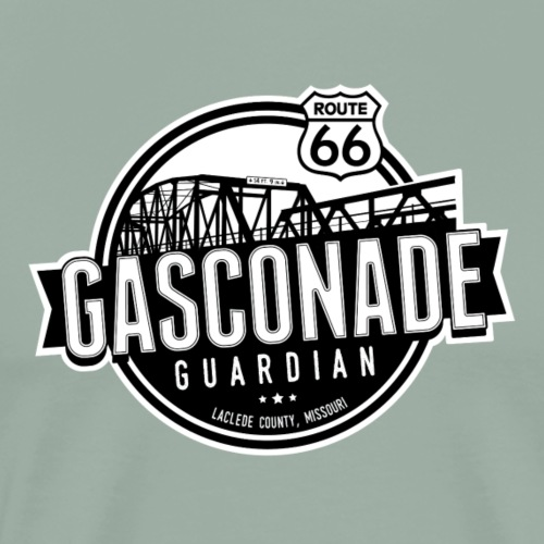 Gasconade Guardian - Outline - Men's Premium T-Shirt