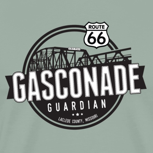 Gasconade Guardian - No Outline - Men's Premium T-Shirt