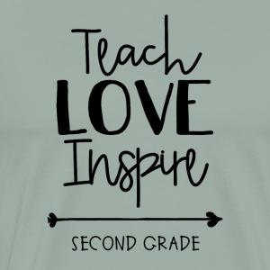 Teach Love Inspire Second - Men's Premium T-Shirt
