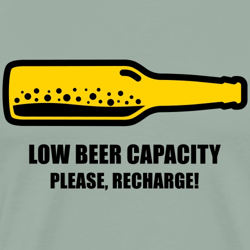 Low Beer Capacity - Men's Premium T-Shirt