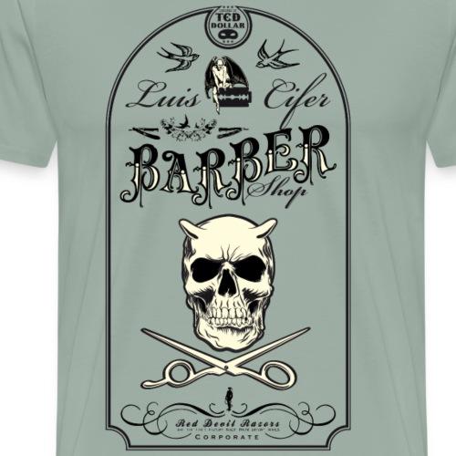 Luis Cifer Barbershop - Men's Premium T-Shirt