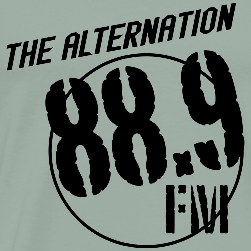 Alternation Slant Logo - Men's Premium T-Shirt