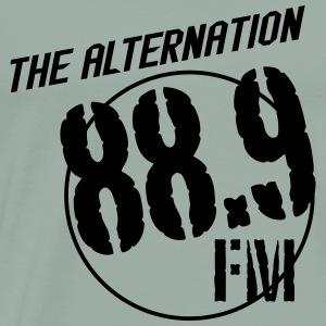 Alternation Slant Logo - Men's Premium T-Shirt
