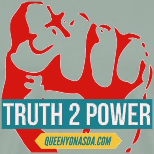 TRUTH 2 POWER RED - Men's Premium T-Shirt