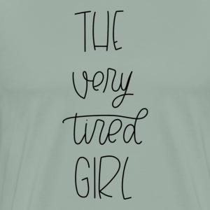 THE VERY TIRED GIRL - Men's Premium T-Shirt