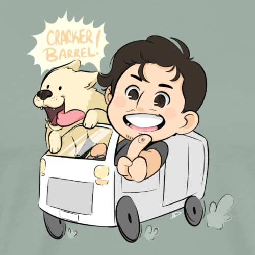 Markiplier And Chica - Road Trip - Men's Premium T-Shirt