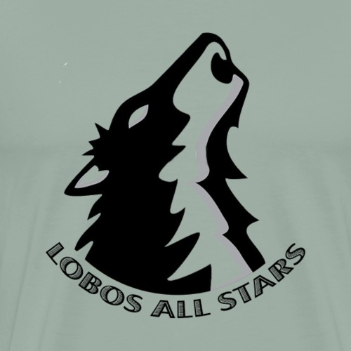 oyaa all stars wolf and text - Men's Premium T-Shirt