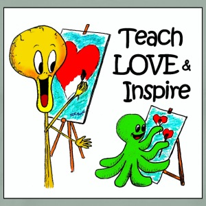 Teach Love & Inspire - Men's Premium T-Shirt