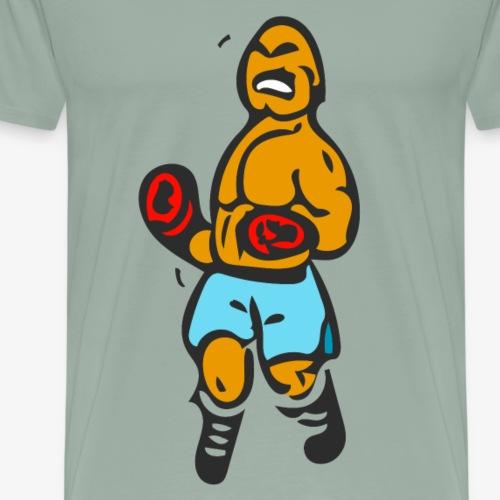 The Punch Out Boxer #1 - Men's Premium T-Shirt