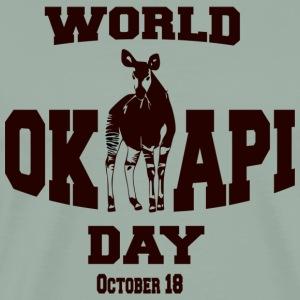 World Okapi Day Celebration Project - Men's Premium T-Shirt