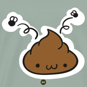 Cute Poop - Men's Premium T-Shirt