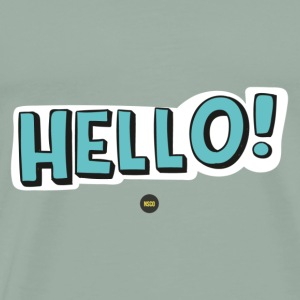 Cute Hello - Men's Premium T-Shirt