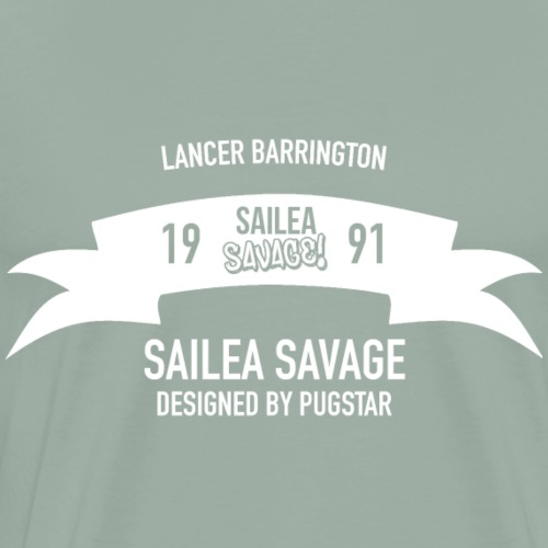 Sailea Savage 1991 Design - Men's Premium T-Shirt