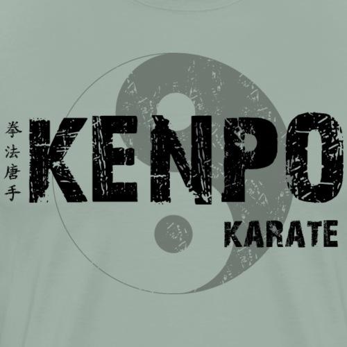 kenpo Yin Yang Black - Men's Premium T-Shirt